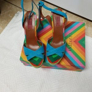 Valentino Garavani Wedge Sandals